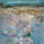 Marij Aarntzen, Winter bij de IJssel, Zonder titel, olie op doek, 60 x 80 cm, 2012
