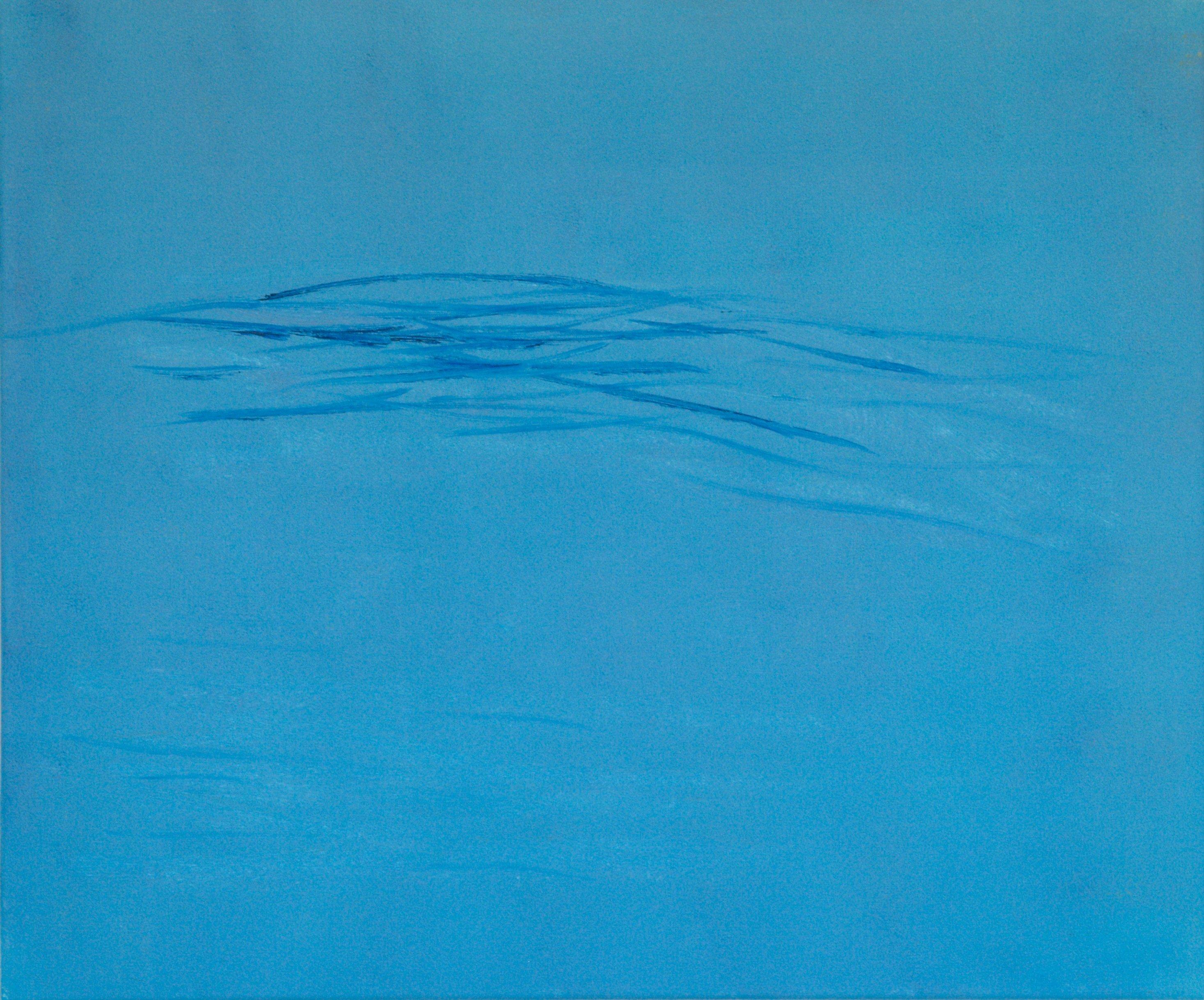 Marij Aarntzen, golf, olie op doek, 50 x 60 cm, 2012