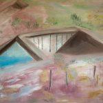 Marij Aarntzen, Helbergen, olie op doek, 90 x 110 cm, 2012