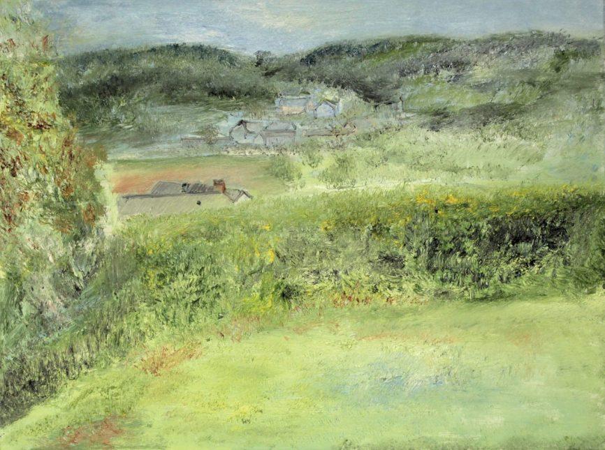 Morvan, Marij Aarntzen, olie op doek, 2015, 60 x 80 cm